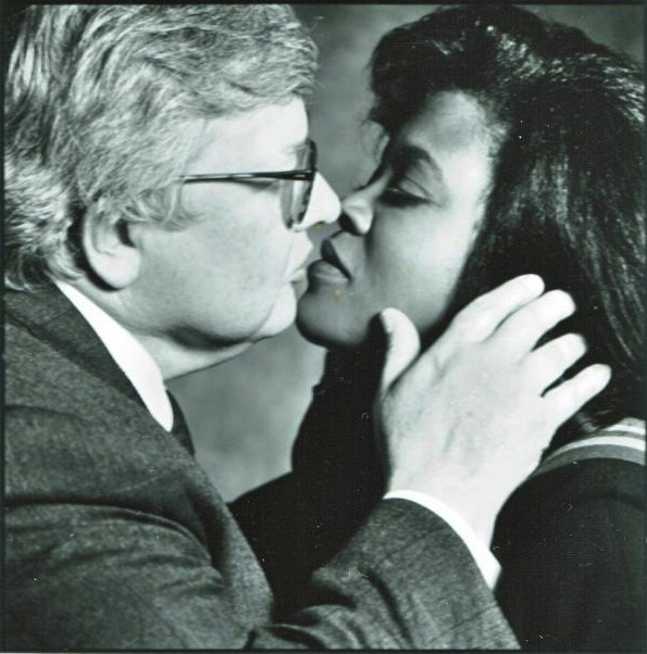 "geekscoutcookies:  afrodiaspores:  Roger Ebert (1942-2013) and Chaz, ca. 1992  Ebert was married to African American Chaz Hammelsmith, vice president of the Ebert Company, for nearly 21 years prior to his death. Hammelsmith was once a trial attorney. The two met in 1989. ""I love writing to him. When we first started dating, Roger and I would write to each other every morning,"" said Chaz.   Roger Ebert's widow says she's ""devastated"" to lose the man she called the love of her life, adding that he was ""getting tired of his fight with cancer."" ""We were getting ready to go home today for hospice care, when he looked at us, smiled, and passed away. No struggle, no pain, just a quiet, dignified transition,"" Chaz Ebert said in a statement released shortly after the legendary film critic's death today. She said her husband – whom she called her friend, confidante and partner for more than 20 years – had fought a ""courageous fight."" ""I've lost the love of my life and the world has lost a visionary and a creative and generous spirit who touched so many people all over the world,"" she wrote, adding that they had a ""lovely"" life together… Ebert posted a blog about the depth of his feelings for his wife on their 20th wedding anniversary… ""How can I begin to tell you about Chaz?"" he posted on July 17, 2012. ""She fills my horizon, she is the great fact of my life, she has my love, she saved me from the fate of living out my life alone, which is where I seemed to be heading. If my cancer had come, and it would have, and Chaz had not been there with me, I can imagine a descent into lonely decrepitude."" During his long illness, Ebert wrote, his wife ""never lost her love, and when it was necessary she forced me to want to live…her love was like a wind forcing me back from the grave.""   Let me tell you this, when they read Chaz's statement on the news, i cried for 10 minutes."