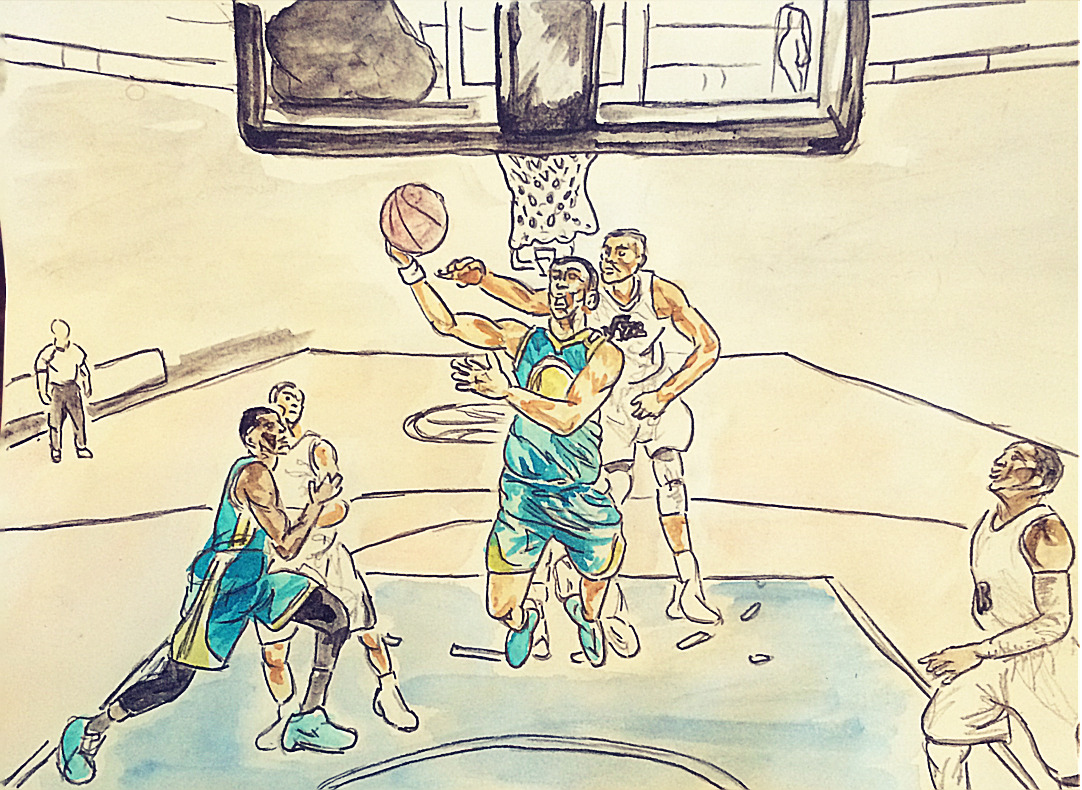 """basketballart - zaza""""the all-star"""" pachulia: evidence that the voting public is not to be trusted"""