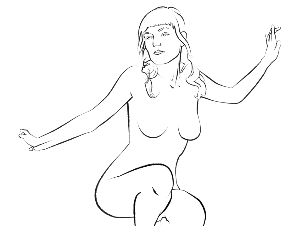 Work in Progress, Illustrated Lady #3