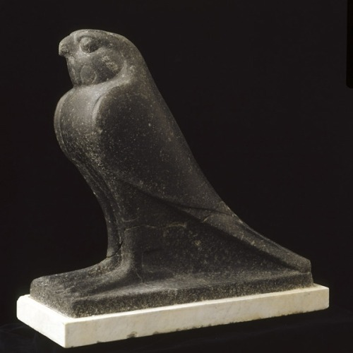 Statue of a Hawk Sculpture End of 4th century BC Black granite Late Period  (Source: Musei Capitolini)