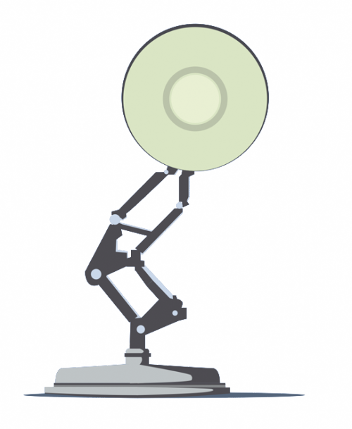 totallytransparent:  Transparent Disney Pixar LampMade by Totally Transparent