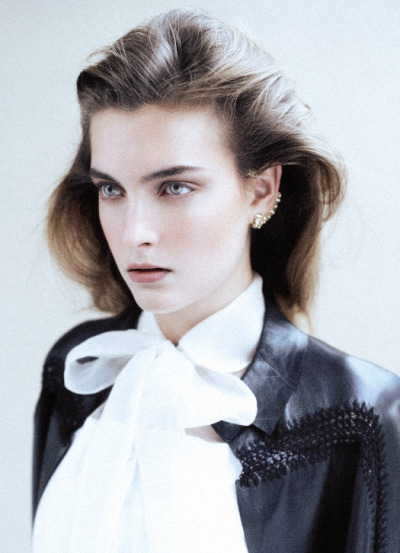 Ophelie Rupp by Johan Sandberg for L'Express Styles December 2012