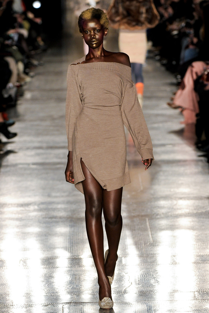 Akuol de Mabior at Vivienne Westwood Red Label, fall 2011