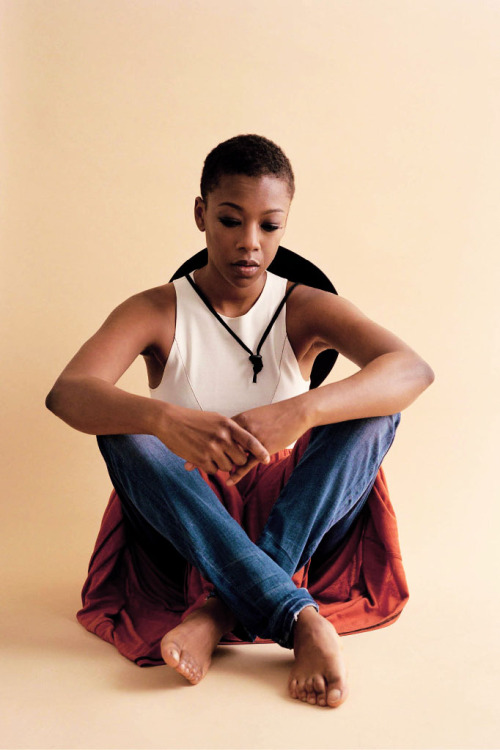 """""""I love playing someone who has so much integrity, who has so much joy and so much life—even though her life is now in prison. She's locked up, but she's able to build up joy anyway."""" - samira wiley for brooklyn magazine"""