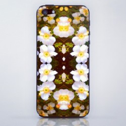 Only $15, found @ Society6.com/ninajoy/phone-skin #iphoneskin #iphone #society6 #pattern #kaleidoscope #flowers