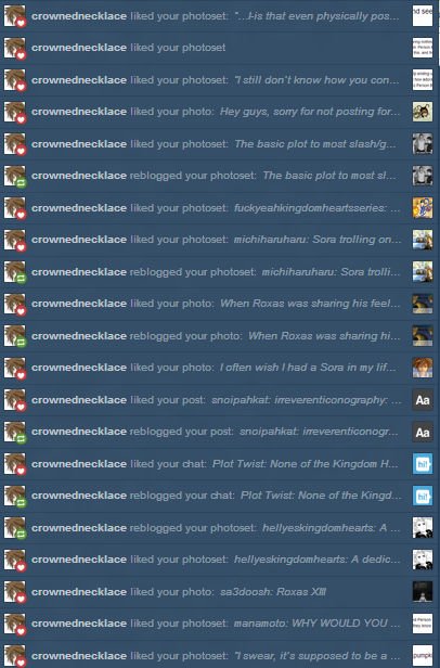 I'm, uh…glad you like my posts? :'3
