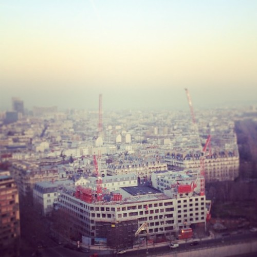 Good morning Paris! (at Hôtel Concorde La Fayette)