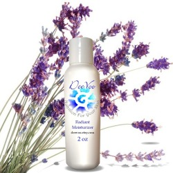 Radiant Moisturizer - Sensitive Skin Care, Natural Moisturizer / Lotion, Vegan with Natural and Organic Ingredients
