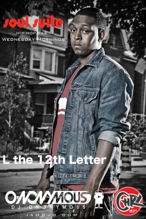 Past Guest L the 12th Letter Recently released his album on 12.12.12… #timing