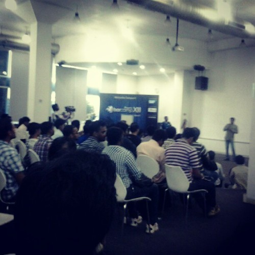 Closing and Feedback Session at Barcamp Bangalore #BCB 13 (at SAP Labs India)