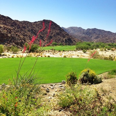 Can't get enough of this place! #golfing #golf #indianwells #palm #palmsprings #desert #mountains #nature #beautiful  (at The Reserve Palm Desert)