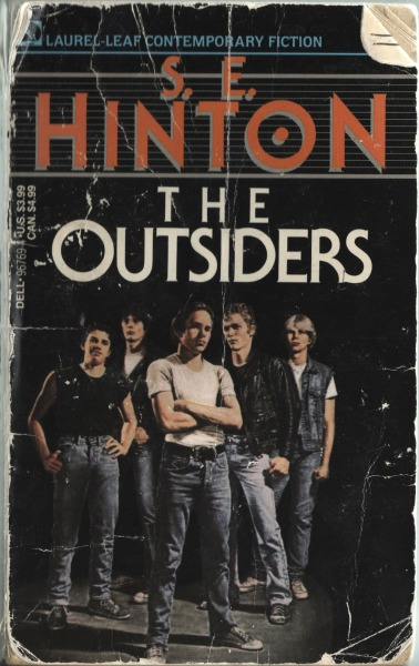 freakinsweetbookcovers:  The Outsiders - S.E. Hinton