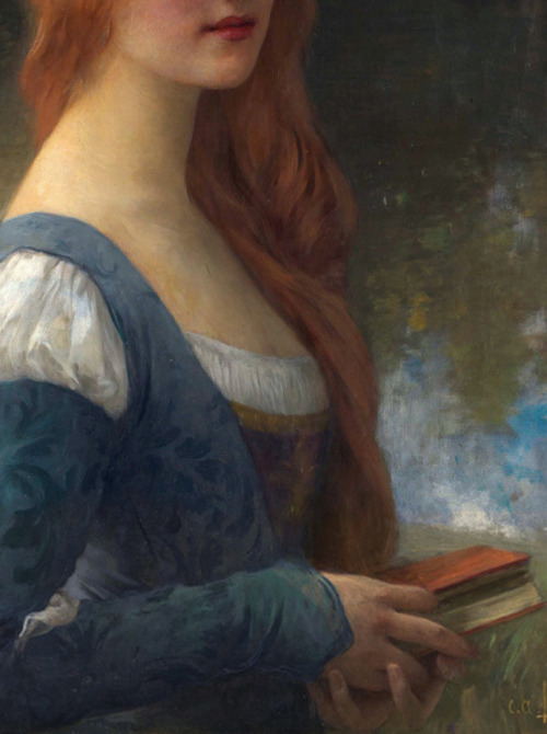 c0ssette:  To the Return of Times Lost,detail,Charles-Amable Lenoir (1860–1926)