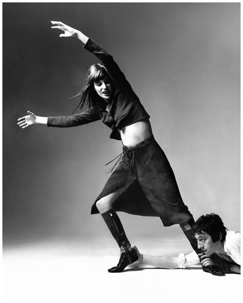 birkin:  Photograph by Bert Stern, 1970