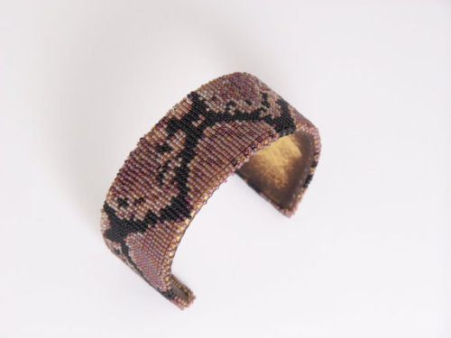 Shawn Carter (Cherokee) Snakeskin Bracelet Available from LJGreywolf on Etsy