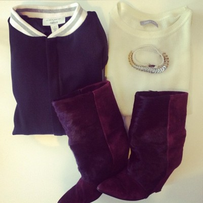 Taking my Isabels out for a walk tomorrow #outfit #samsoesamsoe #isabelmarant #nelly #pfw (bij Paris Fashion Week)