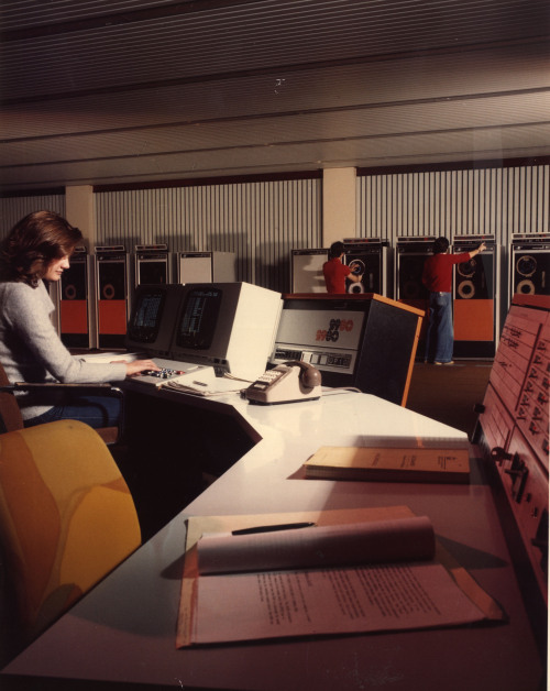 70s office, Washington. From the Tyne & Wear archive.