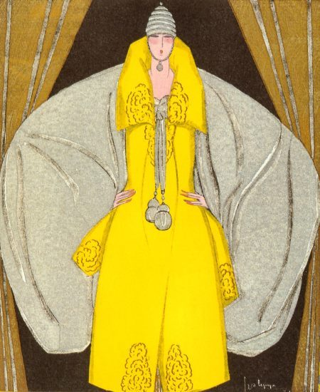 thecamphorchest:   Evening Coat, designed by Paul Poiret