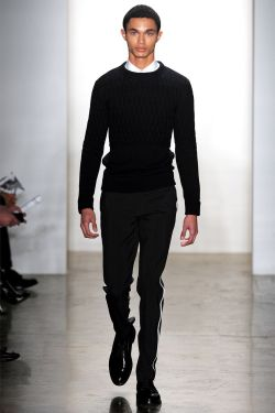 invisibleatlas:  Anthony Lucas Tim Coppens FW13 | New York Fashion Week