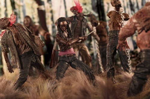 See more of Michonne of The @WalkingDead_AMC kicking ass in @theonecam's latest series HERE!