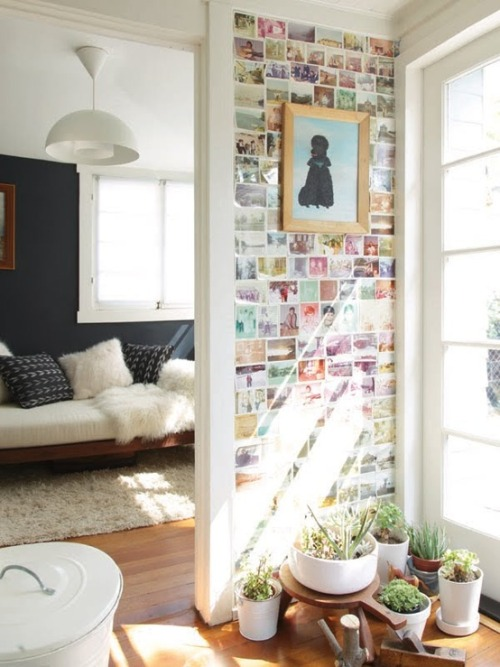 myidealhome:   old photos wallpaper (via Pinterest)