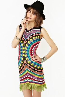 Twiggy Style Hippy dress