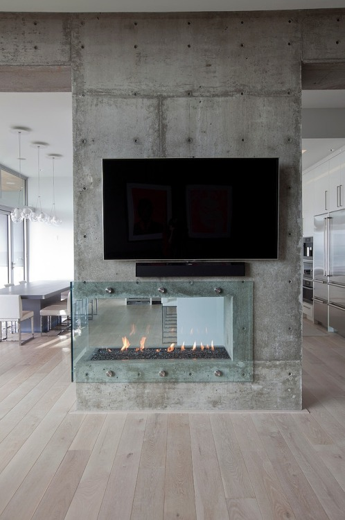 justthedesign:  Tanya Schoenroth Design, The Burnaby Residence Fireplace