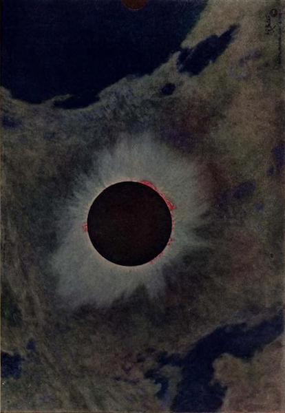 nemfrog:Solar eclipse, June 8, 1918.Eclipses of the Sun. 1923. Frontispiece.
