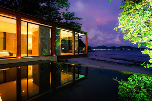 Infinity pool of the moment: the Naka Phuket resort The beautiful resort, settled in one of the most breathtaking tropical gardens, was designed by the architect, Duangrit Bunnag. via - trends/freshome