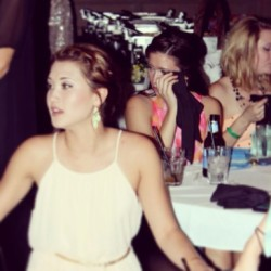 Just found this gem… Completely unaware and in shambles at banquet… Typical Meredith. At least my roomies are doing good… #Baby #ousod #ousod2014 #ousodbanquet2013 #shambles