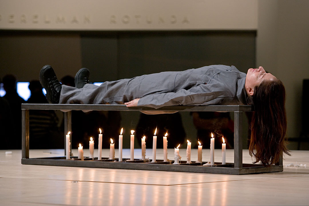 bellyache16:  Marina Abramovic, Seven Easy Pieces, The Conditioning