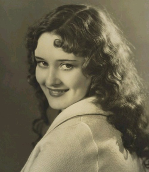 Actress Marian Marsh (when she was still known as Marilyn Morgan) - 1930