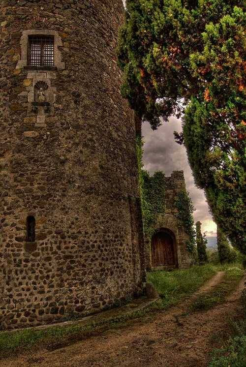 Ancient Castle, Spain photo via writing