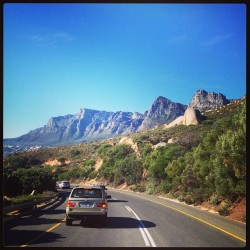 En route to Mzoli's… So pumped! @nicoleah77 #llandudno #capetown #southafrica