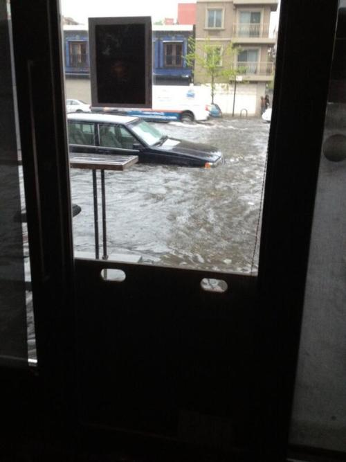 peterwknox:  (via Flooding in New York (PHOTOS) - weather.com) Fourth avenue and Carroll street #flooding right now YIKES.