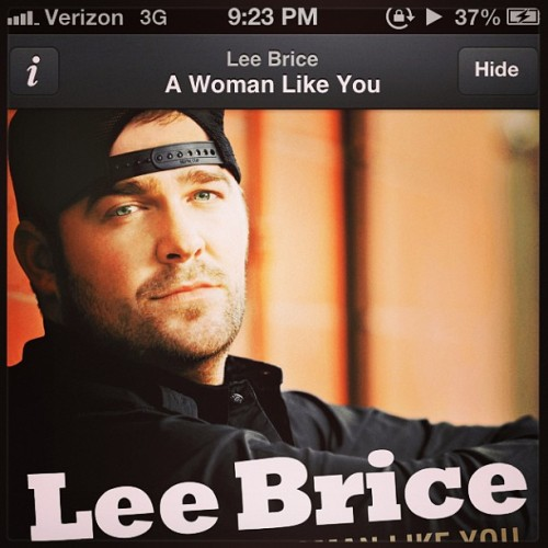 A guy who thinks of a woman like this is a keeper #leebrice 😍👍 #sappytweet