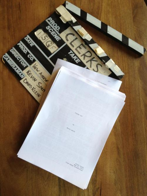 [ kevin smith | clerks III (script finished) ] congrats old friend