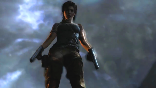 iamconrado:  Lara Croft with the Dual Pistols - Tomb Raider (2013).
