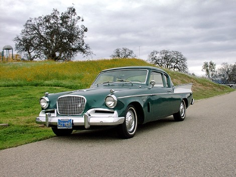 57 Studebaker The Golden Hawk was available with a 289 Studebaker engine with a McColluch supercharger. It made 275 h.p. same as the 352 cu. in. Packard powered 1956 Stude, but the 289 was much lighter, making it handle and perform much better.