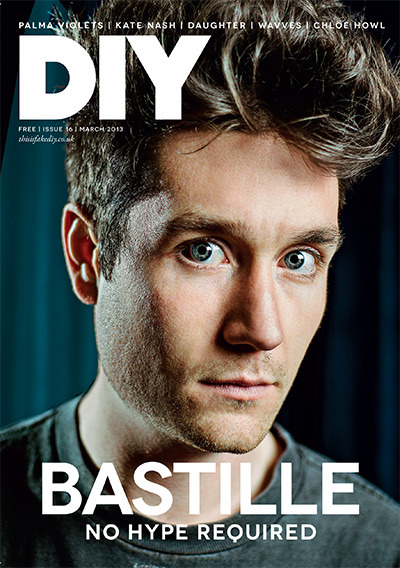 The new issue of DIY is available digitally and in the shops from today. Now. Right this second. Inside, as well as a massive feature with Dan Smith aka. Bastille, up above, we travel across the Atlantic to visit Palma Violets, Wavves tells us about his new album's…Catholic influence and we find out what's been going on in Kate Nash's world.