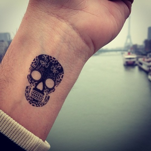 Skull #tattoo #dcer #paris
