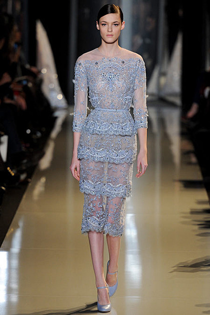Kremi Otashliyska for Elie Saab Couture S/S 2013