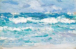 bofransson:  Waves by Samuel John Peploe