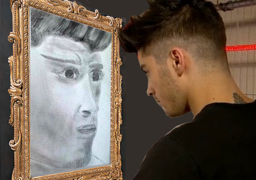zipzapziall:  perseues:  when will my reflection show who i am inside  I CANT BREATHE