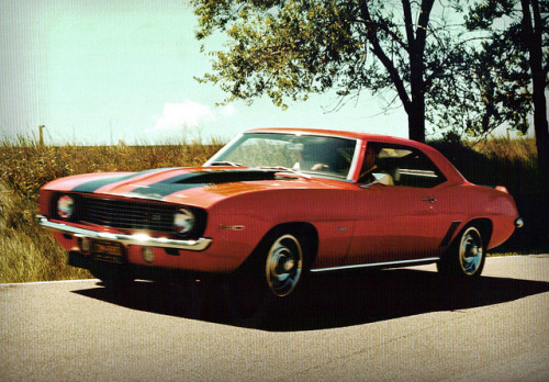 diesuscarspotting:  1969 Chevrolet Camaro Z28 by coconv on Flickr.