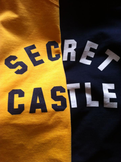 Shirts for Secret Castle.   http://secretcastle.bigcartel.com/