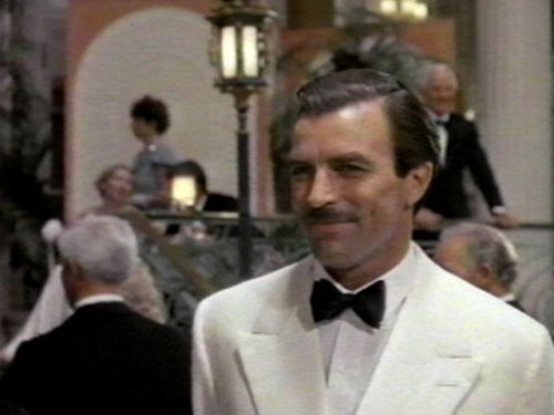"Lassiter (#122) AKA: Tom Selleck has a moustache and is taller than everyone else in the world so all the ladies get naked and nobody worry about it because he's in England. Hmm. For being a heist film, the heist stuff is minimal, which is confusing because I'm not sure what the rest of the movie was spent doing. It was definitely trying to be The Sting for large chunks but lacked the thespian skills, decor, or plot necessary to pose even an homage. For being set in the 1930s, the fashion (particularly for the ladies) is very 80s and the only really redeemable performance (barring poor Bob Hoskins) is from Joe Regalbuto as FBI Agent Breeze. Otherwise, it's one of those cheaply made ""whatever films"" starring 70s/80s television stars. Poor Jane Seymour."