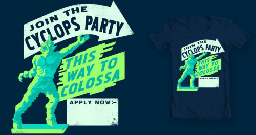 Cyclops Party: Vote @ Threadless!
