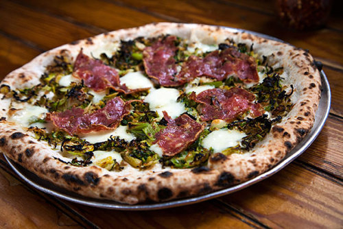 skeery:  101 Best Pizzas. Featured here? Erreyday I'm Brusslin' from Roberta's (only a couple of blocks from my house in Bushwick).