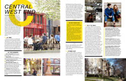 Editorial Layout for the April 2013 issue of Alive Magazine